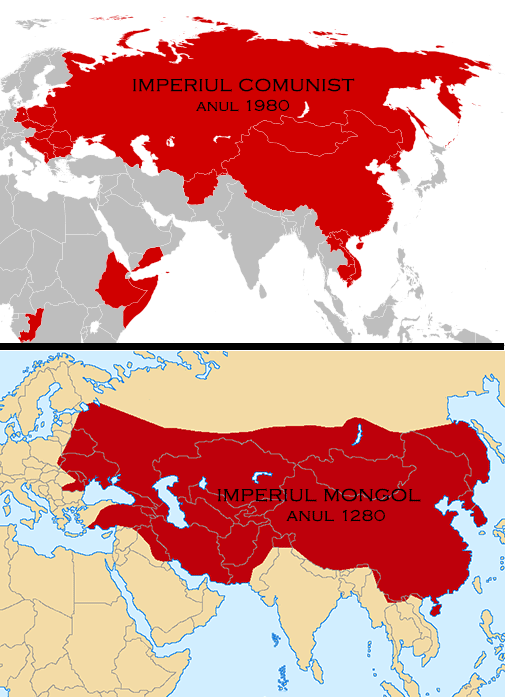 Imperiul Comunist vs. Imperiul Mongol
